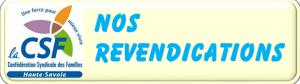 NOS REVENDICATIONS DIA