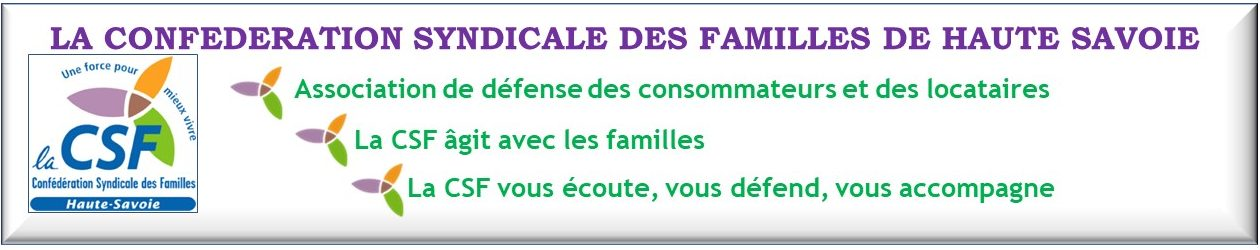 Confédération Syndicale des Familles de Haute-Savoie