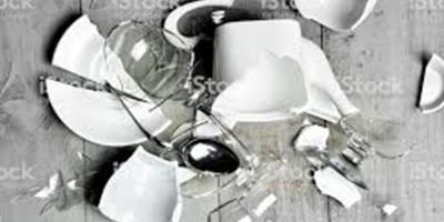 vaisselle cassée redim